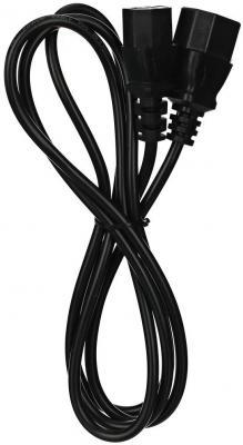 Фото - Кабель UPS - устройство 220V (IEC-320-C13/C14) <VDE>3G0,5mm2,1,8m, медь, Telecom <TE001-CU0.5-1.8M> hp ups t1500 g4 intl 220v 230v 240v 1500va 1050w input c14 output 8 iec c13 analog af451a