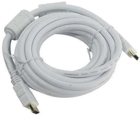 Фото - Кабель HDMI 3м AOpen ACG711DW-3M круглый белый кабель aopen hdmi hdmi acg511 1 м черный