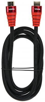 Фото - Кабель HDMI 3м VCOM Telecom CG526S-R-3M круглый черный кабель vcom hdmi hdmi cg526s 3 м черный