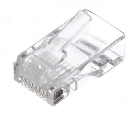 Коннекторы RJ-45 (8P8C) для UTP кабеля 6кат. ( упаковка 20шт.) VCOM <NM006-1/20>