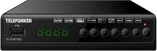 Фото - Ресивер DVB-T2 Telefunken TF-DVBT262 черный shift