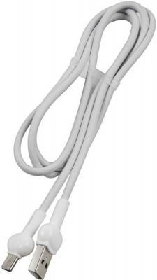 Фото - Кабель Type-C 1м Red Line Candy круглый белый УТ000021993 кабель borasco usb type c 2а 1м белый