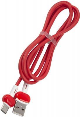 Фото - Кабель Type-C 1м Red Line Candy круглый красный УТ000021994 кабель borasco usb type c 2а 1м белый