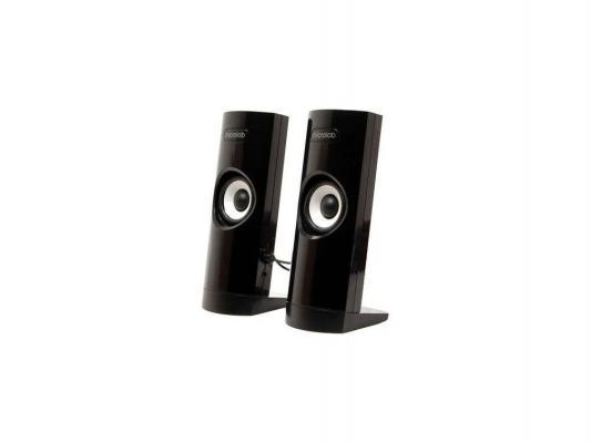 Колонки Microlab B-18 black (USB) 2.0 {4.8 Вт RMS, 100Hz-20000Hz, выход на наушники}