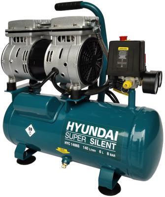 Компрессор Hyundai HYC 1406S 0,75кВт пневмоинструмент