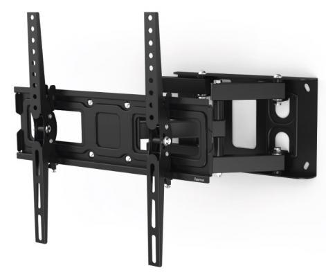 Фото - Кронштейн для телевизора Hama FULLMOTION TV черный 32-65 макс.50кг настенный монокуляр hama optec 10 x 25 roof черный [00002808]