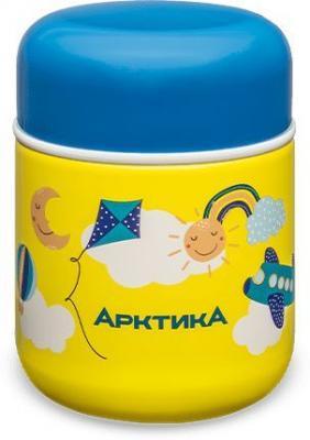 Термос для еды Арктика 411-280 0.28л. желтый/рисунок картонная коробка (411-280/YEL)