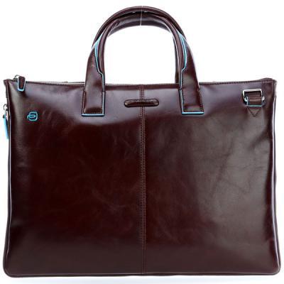 Сумка для ноутбука Piquadro Blue Square CA4021B2/MO коричневый натур.кожа кожаные сумки piquadro ca4021b2 r