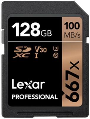 Фото - LEXAR 128GB Professional 667x SDXC UHS-I cards, up to 100MB/s read 90MB/s write C10 V30 U3 lexar 128gb professional 667x sdxc uhs i cards up to 100mb s read 90mb s write c10 v30 u3
