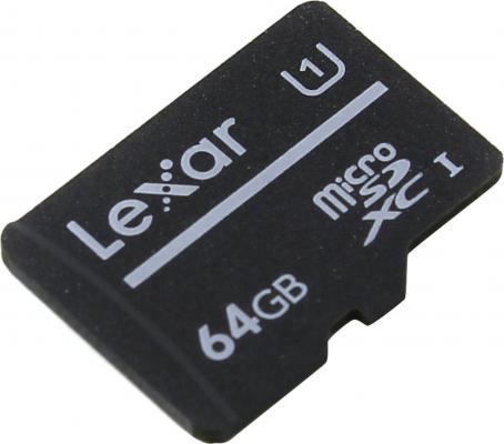 Фото - LEXAR 64GB High-Performance C10 microSDHC UHS-I, up to 80MB/s read видеорегистратор