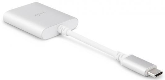 Фото - Адаптер USB Type C миниджек 3.5 мм Moshi 99MO084249 круглый серебристый moshi usb c digital audio adapter with charging серебристый