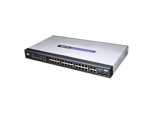 Купить со скидкой Коммутатор Cisco SB SRW224G4-K9-EU
