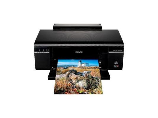 Принтер Epson Stylus Photo P50 {A4, 5760 dpi, 6 цв.37 (38 в цвете) стр/мин,, фото 12стр/мин,  Печать на CD/DVD, USB2.0 Hi-Speed}