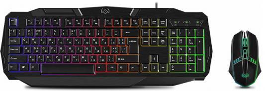 Клавиатура проводная Sven GS-9100 USB черный
