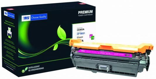 Фото - Картридж лазерный MSE CE403A M551M-XL-MSE пурпурный (11000стр.) для HP LJ M551 картридж лазерный mse q5949x 49x xl mse черный 6000стр для hp lj 1320 3390 3392