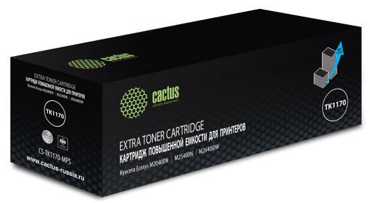 Картридж лазерный Cactus CS-TK1170-MPS черный (12000стр.) для Kyocera Ecosys M2040dn/ M2540dn/M2640idw