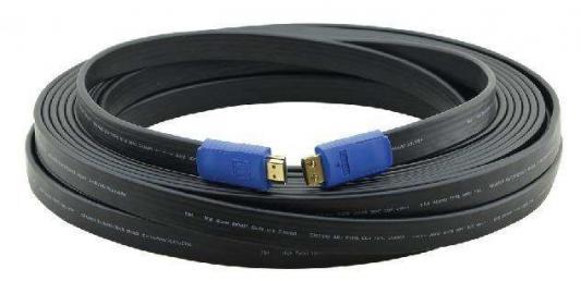Фото - Кабель HDMI 0.9м Kramer C-HM/HM/FLAT/ETH-3 плоский черный 97-01014003 кабель hdmi 3м kramer c hm hm flat eth 10 плоский черный 97 01014010