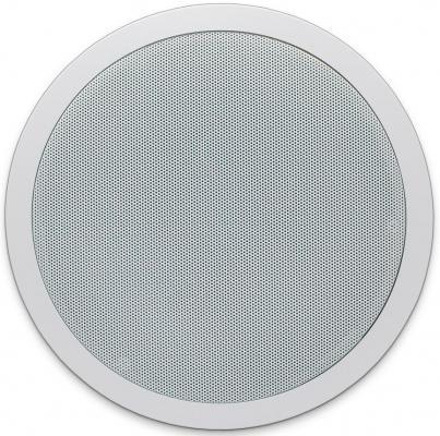 """Сабвуфер APART [CMSUB8] пассивный потолочный (встр. кроссовер). 8""""НЧ. 50 Гц 200 Гц. 2 х 80 Вт / 8 Ом. Макс. SPL: 107 dB. IP54. Euroblock. Форма: круглая. Цвет: белый."""