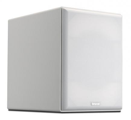 """Сабвуфер APART [SUBA165-W] компактный активный (с кроссовером), 8""""НЧ.30 Гц 180 Гц. 140 Вт / 4 Ом. Макс.SPL: 109 dB. IP20. Разъём """"лопатка"""", 2х2RCA. Цвет: белый."""