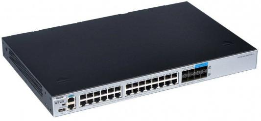 Фото - Коммутатор [RG-S5750C-28GT4XS-H] Ruijie Networks RG-S5750C-28GT4XS-H 28 10/100/1000 BASE-T ports,4 1G/10G SFP+ BASE-X ports, 2 extension slots, 2 modular power slots, required to purchase at leaset 1 power module коммутатор huawei s1720 28gwr 4p bundle 24 ethernet 10 100 1000 ports 4 gig sfp with license ac 110 220v