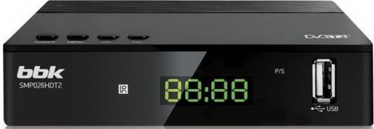 Фото - Ресивер DVB-T2 BBK SMP026HDT2 черный shift