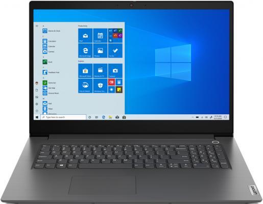 Ноутбук 17.3 FHD Lenovo V17-IIL grey (Core i3 1005G1/8Gb/256Gb SSD/noDVD/VGA int/DOS) (82GX007QRU) ноутбук lenovo v17 iil intel core i3 1005g1 1200mhz 17 3 1920x1080 8gb 256gb ssd dvd нет intel uhd graphics wi fi bluetooth dos 82gx007qru iron grey