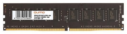 Оперативная память для компьютера 8Gb (1x8Gb) PC4-25600 3200MHz DDR4 DIMM CL22 QUMO QUM4U-8G3200P22