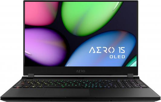 Ноутбук Gigabyte AERO 15 KB-7RU1130SH Core i7 10750H/16Gb/SSD512Gb/RTX 2060 6Gb/15.6/144Hz/IPS/FHD/Win10/black (9RP75KBCBG8S1RU0000)