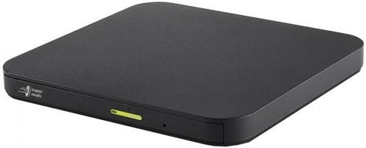 LG DVD±RW DL External Slim ODD GP96YB70 USB 2.0, M-DISC 4/8x, DVD±R 8x, DVD±RW 8/6x, DVD±R DL 6x, DVD-RAM 5x, CD-RW 24x, CD-R 24x, DVD-ROM 8x, CD 24x, Android Connectivity, M-DISC Support, Window/Mac, Black, RTL