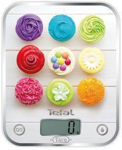 Весы кухонные Tefal BC5122V1 белый рисунок недорого