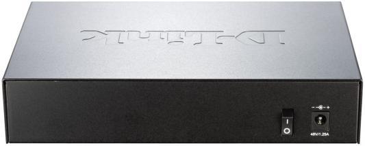 Коммутатор D-Link DGS-1008P/B1A коммутатор d link dgs 1008p c1a коммутатор чер