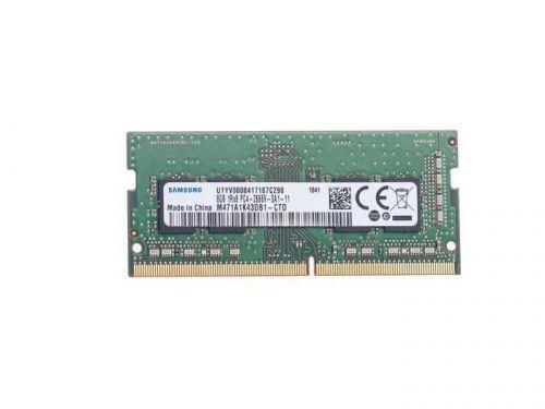 Оперативная память для компьютера 8Gb (1x8Gb) PC4-21300 2666MHz DDR4 SO-DIMM CL19 Samsung M471A1K43DB1-CTD