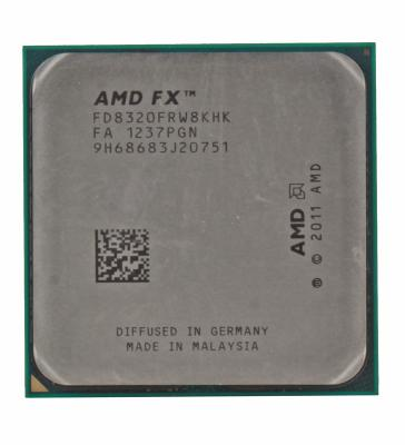 Процессор AMD FX-8320 <SocketAM3+> (FD8320FRW8KHK) Oem процессор amd x4 fx 4350 socket am3