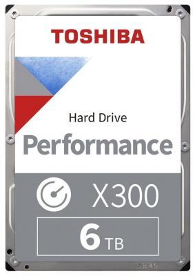 Жесткий диск Toshiba SATA-III 6Tb HDWR160UZSVA X300 (7200rpm) 256Mb 3.5 жесткий диск toshiba sata iii 6tb hdwr160uzsva x300 7200rpm 256mb 3 5 bulk hdwr160uzsva