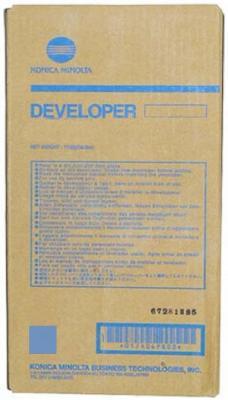 Девелопер Konica Minolta bizhub PRESS C1060/C1060L/C1070/C1070P/C2060/C2060L/C2070(P)/C3070/C3070L/C3080/C3080(P) синий DV-614C ресурс 1200K