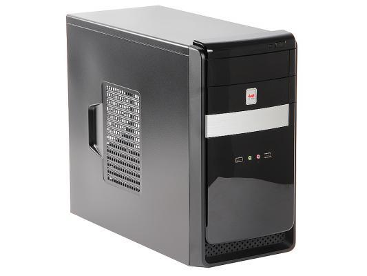 Корпус microATX InWin EMR034 450 Вт серебристый чёрный