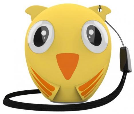 Фото - Акустическая система HIPER Портативная акустическая система Bluetooth Speaker HIPER ZOO Music Lucy, Птичка портативная колонка hiper zoo music мартышка 3вт коричневый [h oz7]