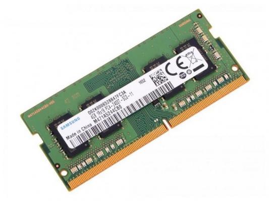 Оперативная память для ноутбука 4Gb (1x4Gb) PC4-25600 3200MHz DDR4 SO-DIMM Samsung M471A5244CB0-CWED0