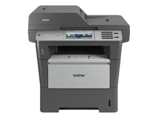 МФУ лазерное Brother DCP-8250DN, принтер/сканер/копир, A4, 40стр/мин, дуплекс, ADF, 128Мб, USB, LAN