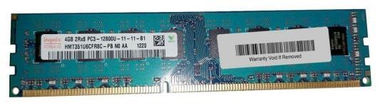 Оперативная память для компьютера 4Gb (1x4Gb) PC3-12800 1600MHz DDR3 DIMM CL11 Hynix HMT3d-4G1600K11