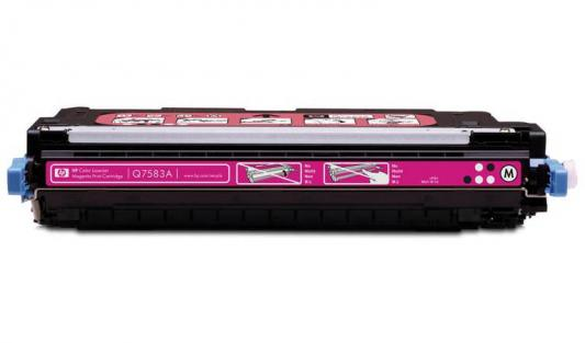 Тонер-картридж HP Q7583A magenta for Color LaserJet 3800 hp q7583a magenta