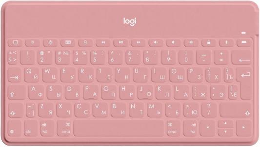 Клавиатура Logitech Keys-To-Go механическая розовый USB беспроводная BT Multimedia for gamer