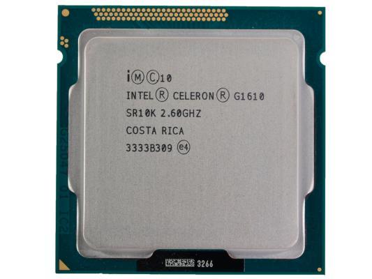 Процессор Intel Celeron G1610 {2.60/2Mb} (SR10K) Oem