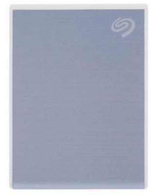 Фото - Накопитель на жестком магнитном диске Seagate Внешний твердотельный накопитель Seagate One Touch SSD STKG1000402 1000ГБ 2.5 USB 3.0 Blue жесткий диск seagate one touch ssd 1tb black stje1000400