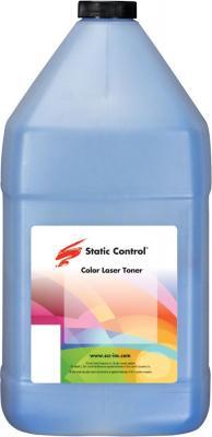 Фото - Тонер Static Control LCS-1KG-COS2 голубой флакон 1000гр. для принтера Lexmark CS310/CS317/CS410/CS417/CS510/CS517 тонер картридж булат s line 71b5hc0 71b0h20 для lexmark cs417 cx417 cx517 голубой 3500 стр универсальный