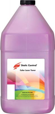 Фото - Тонер Static Control LCS-1KG-MOS2 пурпурный флакон 1000гр. для принтера Lexmark CS310/CS317/CS410/CS417/CS510/CS517 тонер картридж булат s line 71b5hc0 71b0h20 для lexmark cs417 cx417 cx517 голубой 3500 стр универсальный