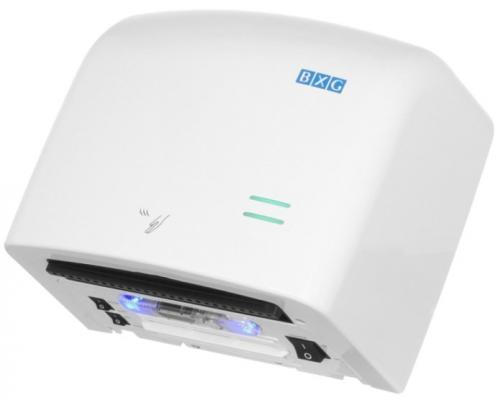 Сушилка для рук BXG-JET-5500, 1250 Вт, пластик, белая