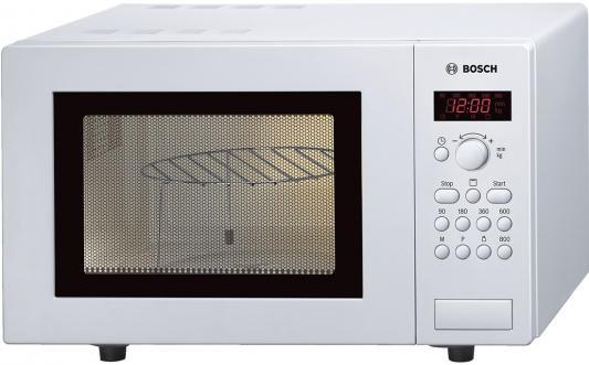СВЧ Bosch HMT75G421R 800 Вт белый чайник bosch twk 6001