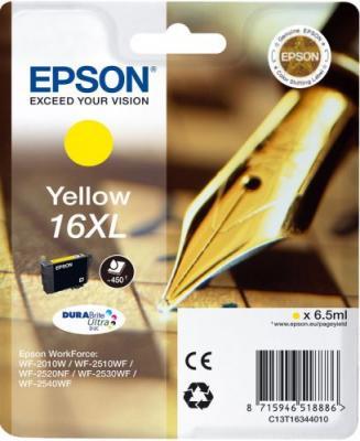 Картридж EPSON 16XL желтый повышенной емкости для WF-2010/WF-2510/WF-2540