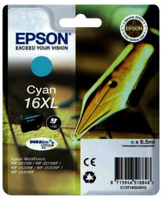 Картридж EPSON 16XL голубой повышенной емкости для WF-2010/WF-2510/WF-2540